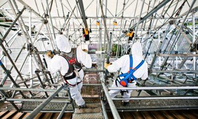 """""""فيني بروسيت"""" تنجح في إنجاز سقالات البرج الشمسي لمحطة """"نور 3"""""""
