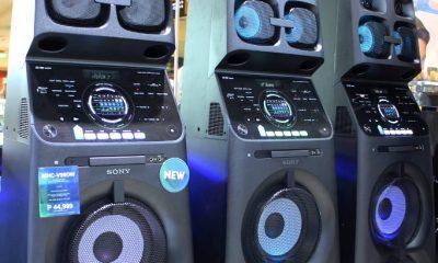 """""""سوني"""" تطلق نظام الصوت MHC-V90DW"""