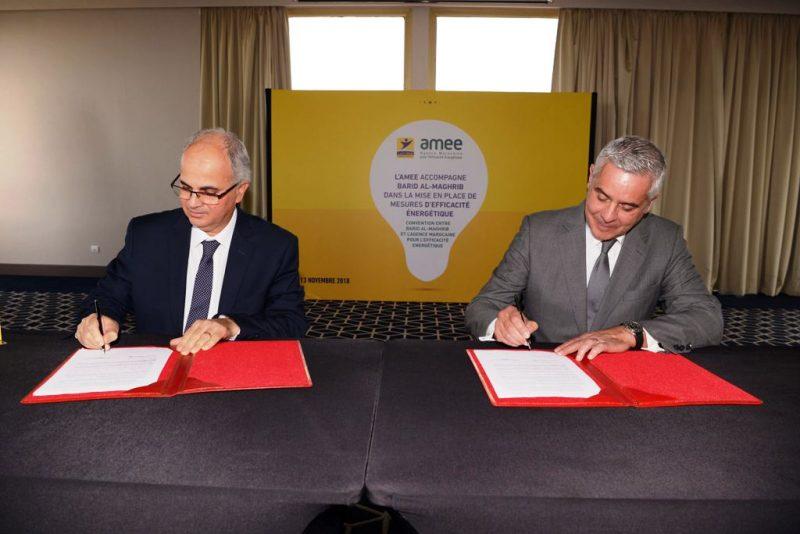بريد المغرب يوقع اتفاقية مع وكالة النجاعة الطاقية لتقليص الانبعاثات الكربونية